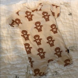 Huxbaby Soldier Bear Short One Piece